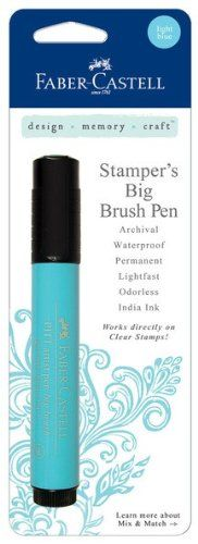 Light Blue Stamper's Big Brush (Design Memory Craft)