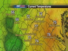Sept 25: State Temps