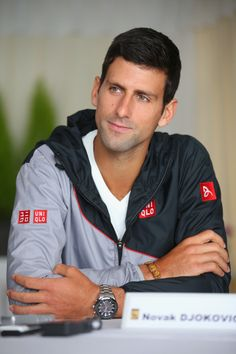 Novak Djokovic - sorry to hear he has to take a break for a while.  Hope he heals quickly!