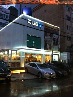Cube Entertainment in Seoul, Korea