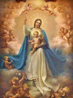 Blessed Virgin Mary & Jesus