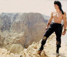 Rambo III - Publicity still of Sylvester Stallone