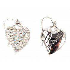 Kolczyki GUESS kobietyKategoria:Biżuteria Kolor(y):srebrnystal nierdzewnaszczególy:logo marki, cekinyzapiecie - haczykmała torebka2,5 cm