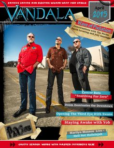 Aprils edition brings a little bit of everything. The cover is a double feature with interviews with David Lovering and Joey Santiago of the Pixies. We also caught up with the unidentifiable Blue of Masked Intruder. Plus we spoke with metallers Yob for an interview. Also live music seems to be roaring all over North America with a ton of tours and upcoming ones and of course we are out there. Vandala hit shows from Shock Rocker Marilyn Manson to Delta Blues icon Harry Manx complete with…