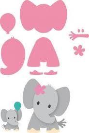 Resultado de imagen para patron elefante baby shower