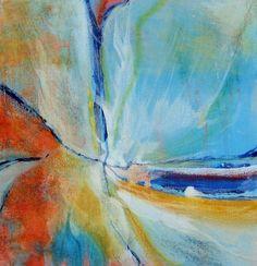 "Flight 10""x10"" acrylic on gallery wrap canvas."