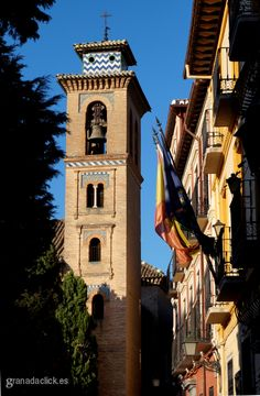 Torre de la Iglesia de Santa Ana de Granada
