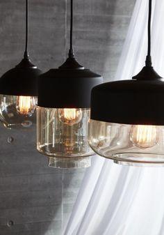 Lampa wisząca DRUM II od Hubsch 060402