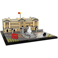 LEGO Architecture Buckingham Palace 21029 Landmark Building Set - Construct a LEGO brick model of one of the world's most famous palaces. Located in the heart of London, Buckingham Palace has housed Britain's sovereigns since 1837, when it became the official residence of Queen Victoria, just three weeks after her accession to the throne. The building has since...