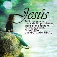Lo mejor es que las pruebas no las pasamos solos, Dios nos fortalece y nos da la Victoria