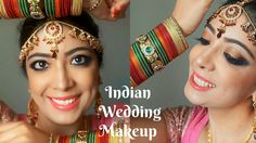 Indian Wedding Makeup Inspired by Sridevi - Chandni | Copper Gold Black ...