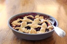Flaky, buttery pie crust tops a pile of fresh berries in this easy dessert; a little time in the oven and everything is transformed. This simple berry pie is a great way to highlight fruits as they come into season. If you are lucky enough to have last year's berries tucked in the freezer, thisRead More