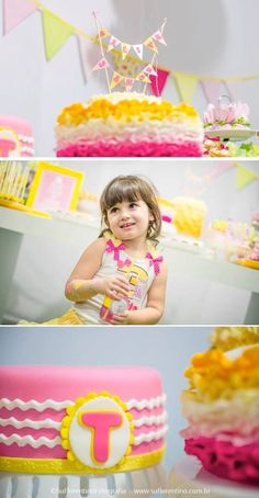 Pink Lemonade Birthday party full of ideas via KarasPartyIDeas.com - THE place for ALL things party! #birthdaypartyideas #lemonadeparty #girlparty #prettycakes