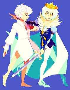 Mytho is Siegfried Belle Cosplay, Boris Vallejo, Royal Ballet, Dark Fantasy Art, Anime Couples Manga, Manga Anime, Princess Tutu Anime, Body Painting, Princesa Tutu