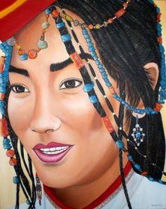 Pinturas de Carmen Gomez Junyent! | Artes & Humor de Mulher