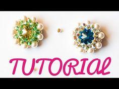 DIY Tutorial Modulo FREEDOM Incastonatura Raw con bicono e perle - YouTube