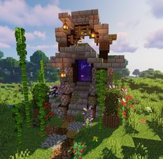 Top Funny Memes About Minecraft & Lucky Block Memes Minecraft Crafts, Cute Minecraft Houses, Minecraft House Tutorials, Minecraft Houses Blueprints, Amazing Minecraft, Minecraft House Designs, Minecraft Creations, Minecraft Interior Design, Minecraft Cottage House