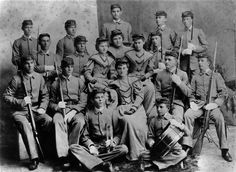 Austin College - 1890's Cadets and Sponsors