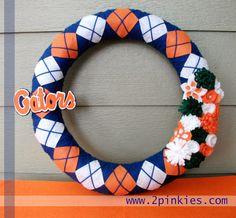 Gators Wreath