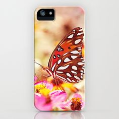 Textured Butterfly iPhone Case by Joel Olives - $35.00