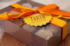 Embalagem de presente para mini cupcakes