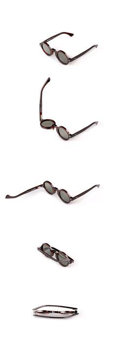 Movitra 215 - Havana scuro con lente verde #sunglasses #movitra #movitraspectacles #spectacles #glasses #eyewear