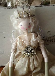 Beautiful Handmade Fairy Doll 'Mischa' ~ exclusively available from www.bettyandviolet.com