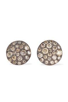 Pomellato - Sabbia 18-karat Rose Gold Diamond Earrings - one size