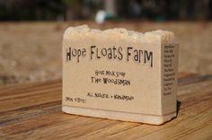 The Woodsman Cedar Soap  GOAT MILK SOAP  All by HopeFloatsFarm