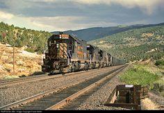 RailPictures.Net Photo: DRGW 5355 Denver & Rio Grande Western Railroad EMD SD40T-2 at Helper, Utah by Frank Keller