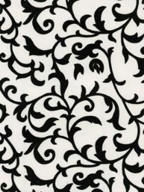 Black And White Scroll Wallpaper