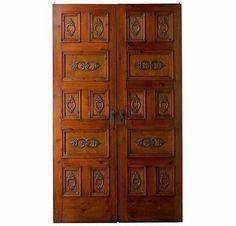 Portera Antique Spanish Doors - beautiful design.