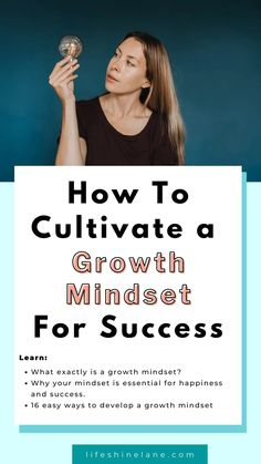 Your mindset is essential when it comes to your happiness and success in life. Stop by to learn why and 16 easy ways to cultivate or nurture a growth mindset. Plus, powerful growth mindset quotes. Positive Self Affirmations, Positive Mindset, Development Quotes, Self Development, Life Advice, Career Advice, Personal Development Coach, Growth Mindset Quotes, Self Confidence Tips
