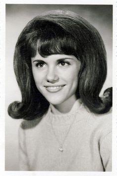 60's high school yearbook look