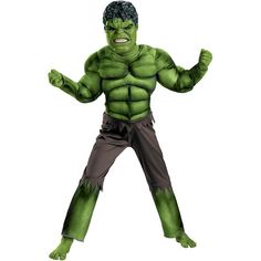 The Hulk Child Halloween Costume at #Walmar