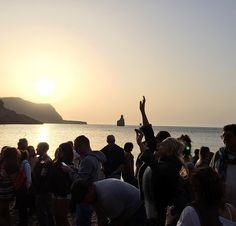 Magical sunset at Benirras Beach in Ibiza. | Ibiza Style, Ibiza Fashion.