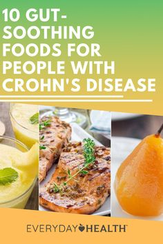 Your Crohn's nutrition plan should be highly individualized, but these easy-to-digest foods may be a good place to start. Easy To Digest Foods, Crohn's Disease, Crohns, Nutrition Plans, Diet, Health, Recipes, Per Diem, Health Care