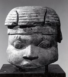 Figure Fragment: Head century Geography:Nigeria, Court of Benin Culture:Edo peoples Medium:Terracotta, metal Dimensions:H. 8 x W. 7 x D. 7 in. x x cm) African Masks, African Art, Ancient Artefacts, First Humans, Black People, Mask Making, Statue, Holy Land, Metropolitan Museum