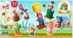 McDonald's Japan is offering Super Mario Toys In Happy Meals- Jealous!