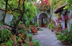 casas rusticas con patios internos - Pesquisa Google