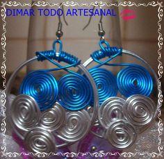 Dimar-Todo artesanal:      complementos de flamenca en alambre de alumin...