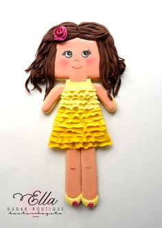 yellow doll | Cookie Connection