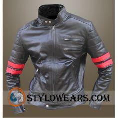 Mayhem Fight Club Leather Jacket