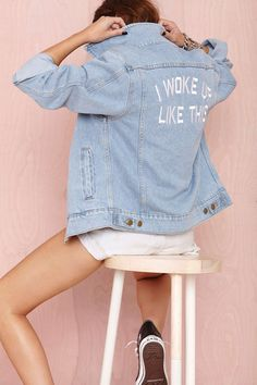 Private Party I Woke Up Like This Jacket | Shop What's New at Nasty Gal