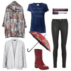 Rainy-Day Fashion Guaranteed To Brighten Your Mood | The Zoe Report Piece By Piece