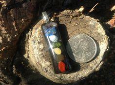 black orgone chakra wand pendant by cassiecascades on Etsy, $35.00