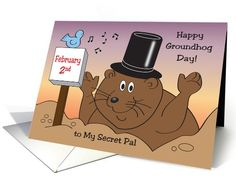 Free printable groundhog day greeting cards free printable ground ground hog day secret pal groundhog card m4hsunfo Choice Image