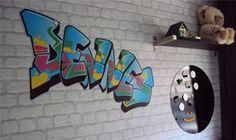 Eigen ontwerp Graffiti muursticker