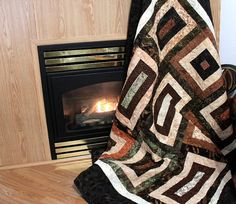 Perfect man cave quilt!