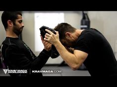 How to Headbutt - Krav Maga Training & Self Defense w/ AJ Draven of KMW - Ep. 38 If you ever watch 2 rams hit each other, it's the same technique. They use the hardest spot on the head, chin tucked underneath.